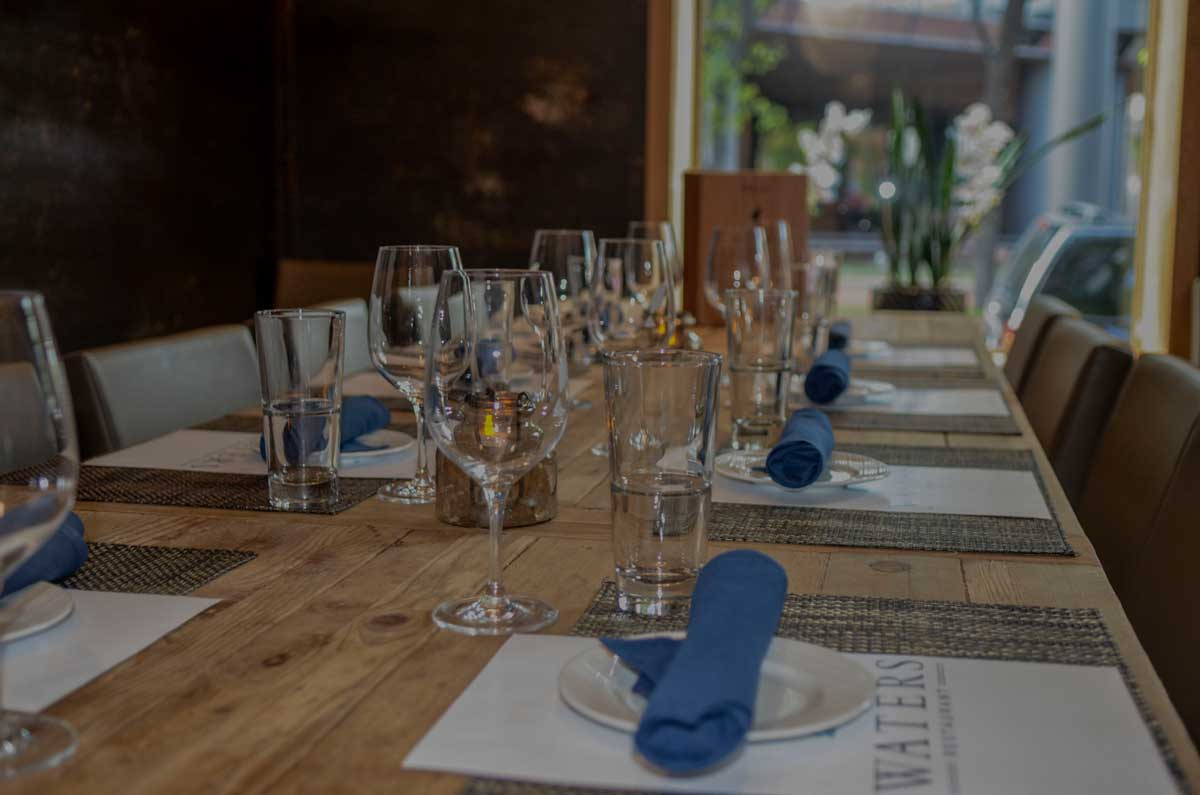 Waters Private Dining